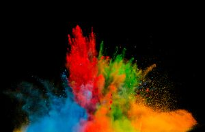 Colorful Powder
