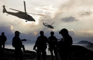 Soldiers And Military Aircraft
