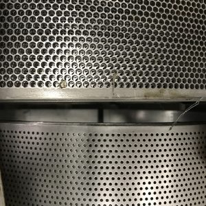 open area perforated tubes